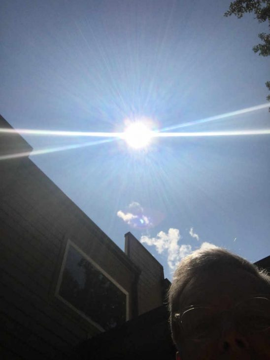 Eclipse at 2:28pm