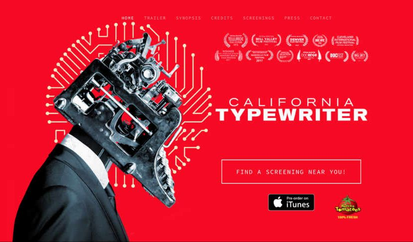 California Typewriter (Movie Review & Reflection)