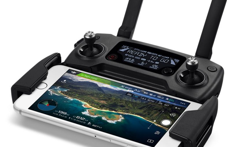 DJI Mavic iPhone Controller