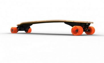 Boosted Board Side View