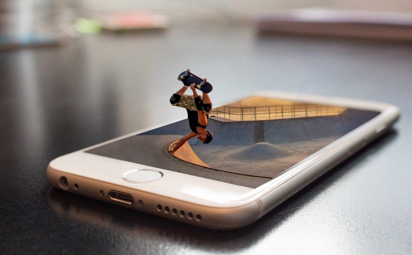 iPhone Skater