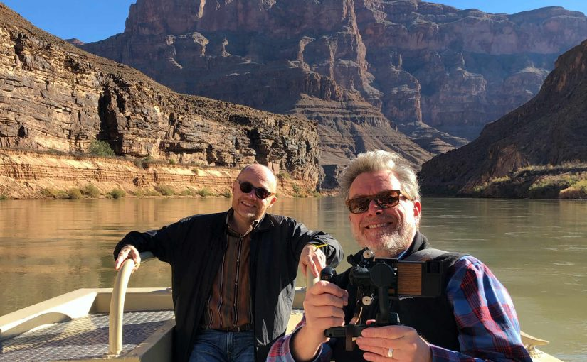 Tim and Steve CO River Grand Canyon