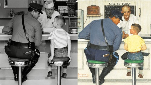 The Photorealism of Norman Rockwell Explained