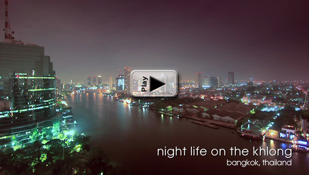Nightlife along the Khlong Play Button