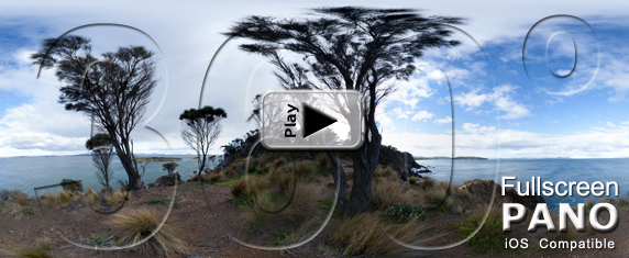 360º Pano of Carlton Point in Tasmania, Australia