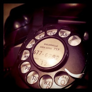 Vintage Rotary Phone Instagram - You Rang?