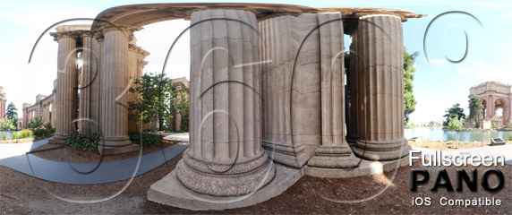 One Final Pano of the Palace of Fine Arts