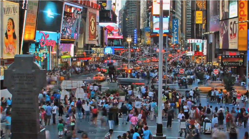 Awesome Time Lapse of New York City