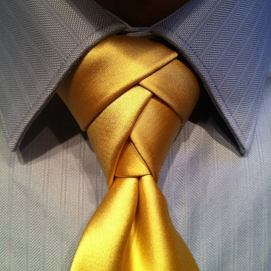 Who Knew Knotting a Tie Could Be So Interesting…