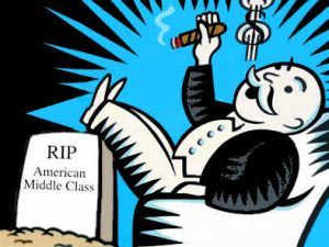Monopoly Man RIP Middle Class