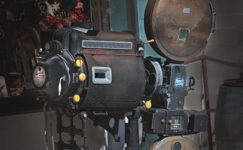 Vintage Movie Projector curves