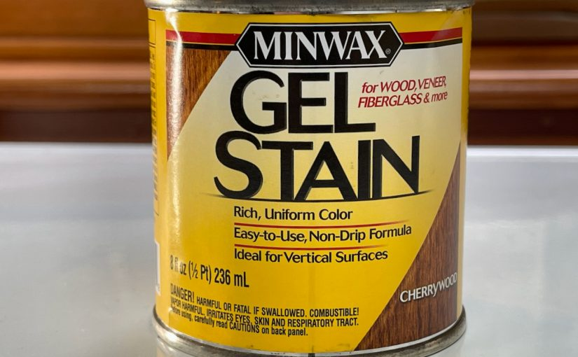 Newly Discovered: Minwax Gel Stain